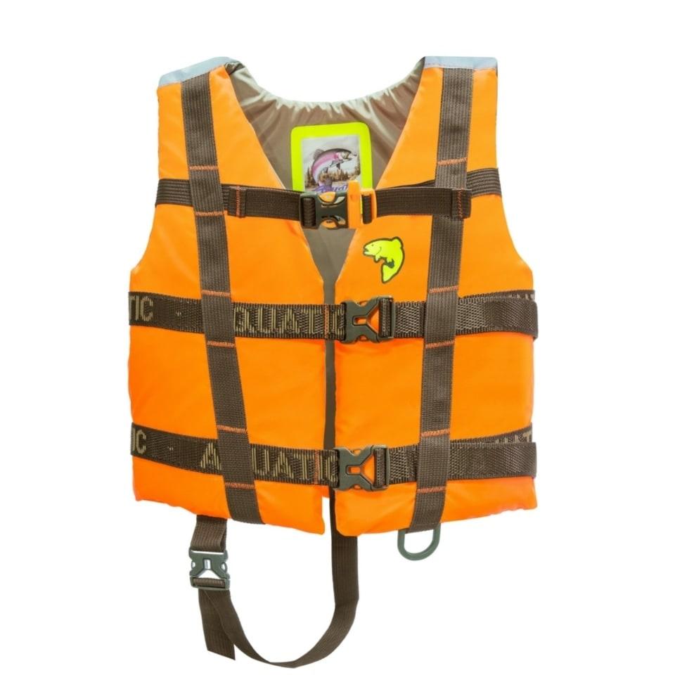 Жилет ЖС-06ДО страховочный детский (цвет: оранжевый)
