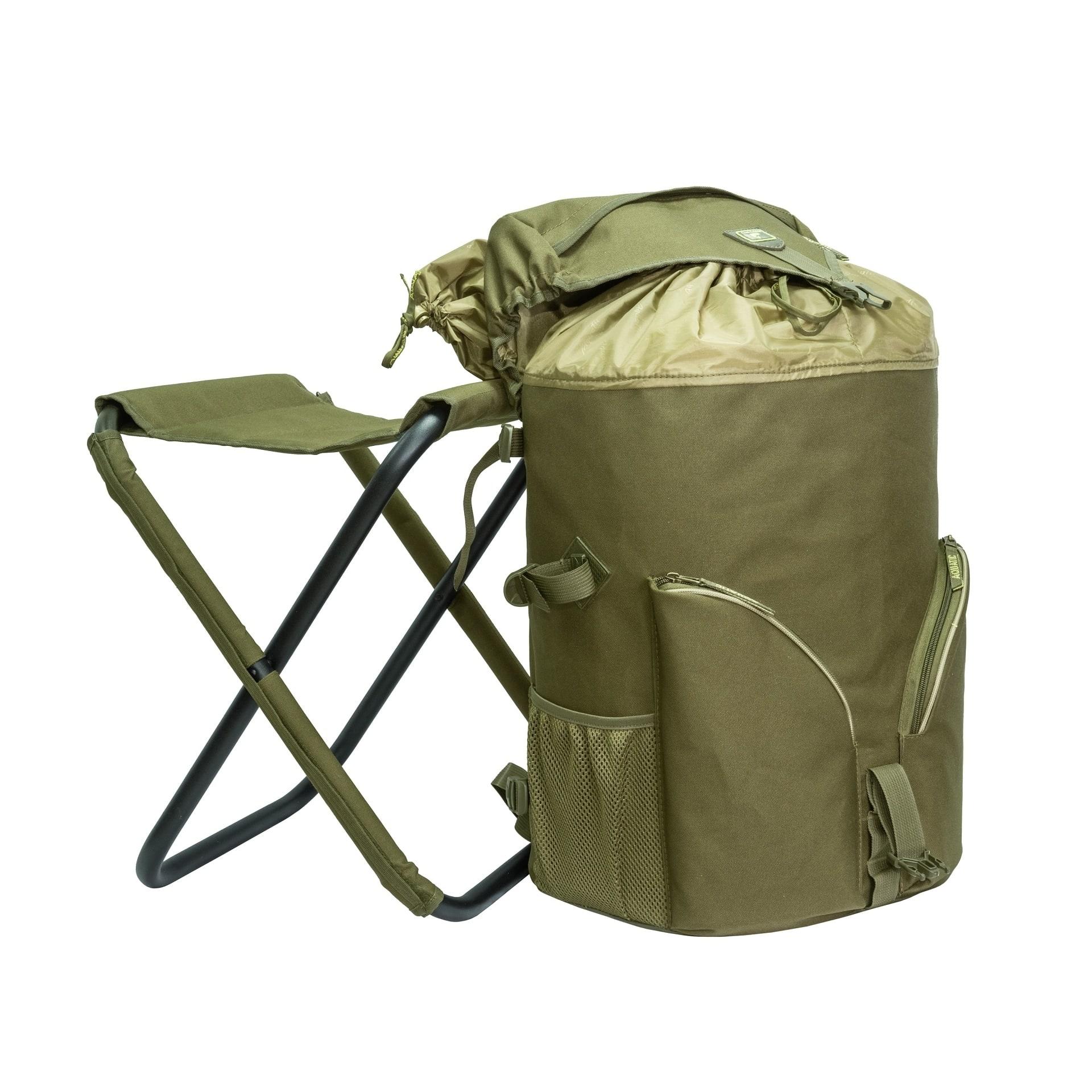 Рюкзак Aquatic РСТ-50 со стулом - Рыболовные рюкзаки Aquatic 582d64fcf99