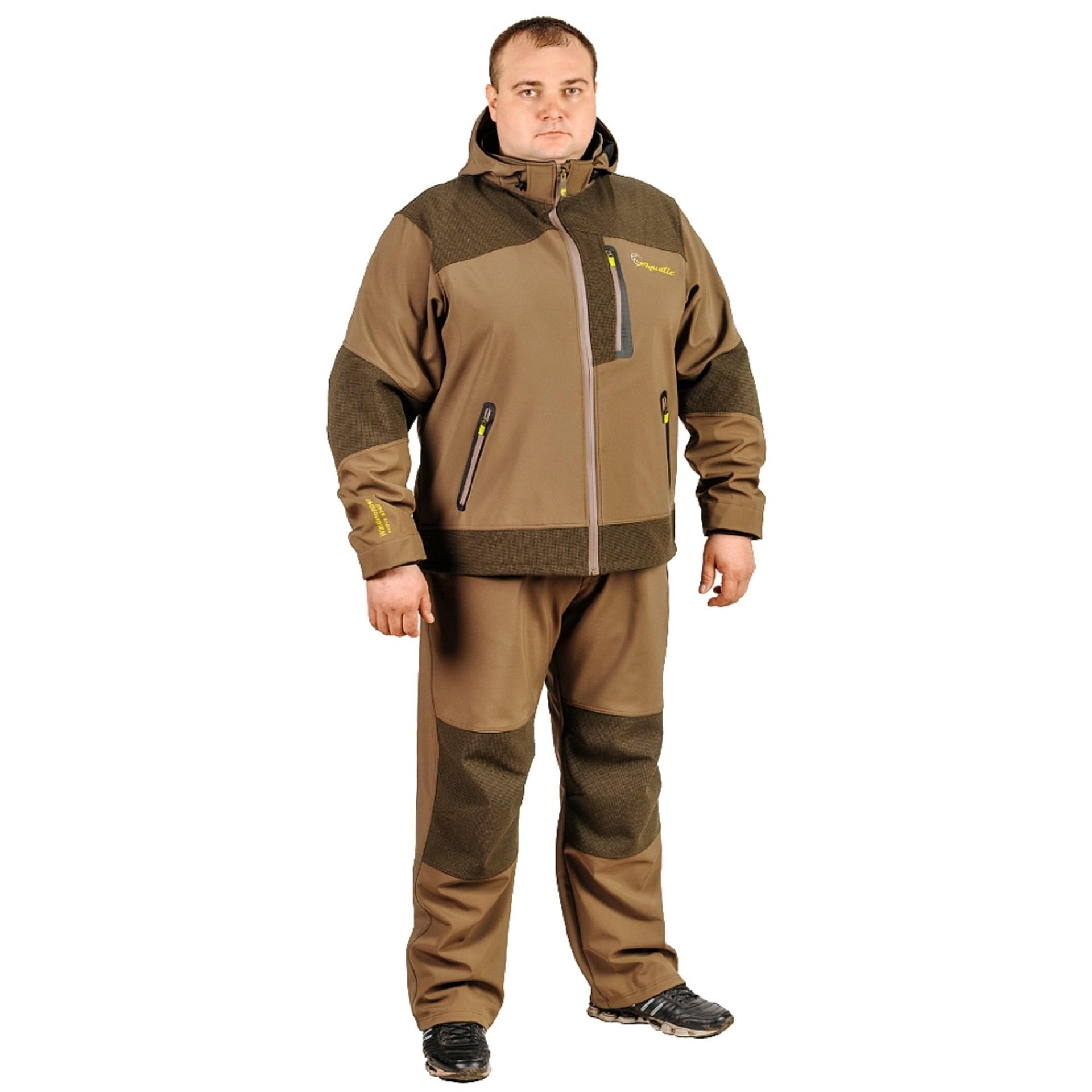 Костюм Aquatic К-04 (мембрана 5000/5000, Soft Shell) - Одежда Aquatic