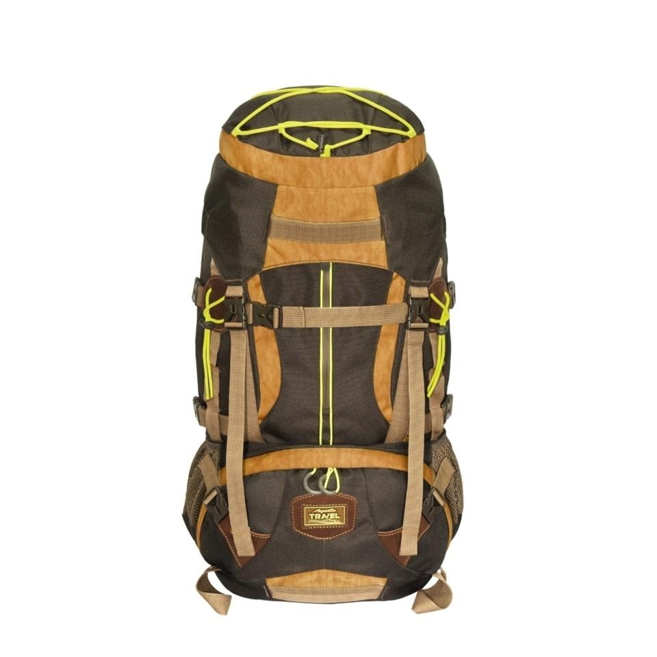 Рюкзак Р-45+5ТК трекинговый (цвет: темно-коричневый)