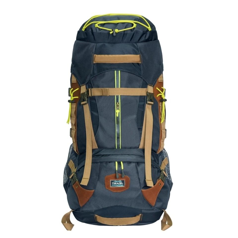 Рюкзак Р-75+10С трекинговый (цвет: синий)