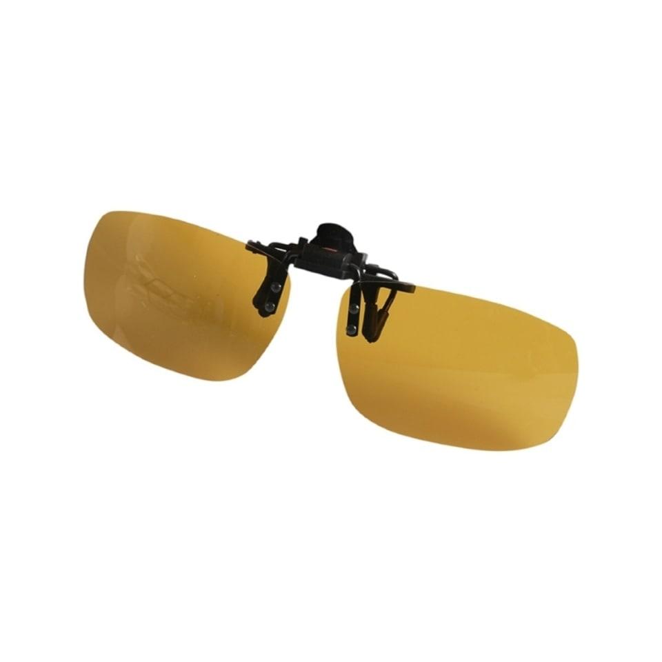 Поляризационные накладки на очки Y-30 (цвет линз: желтый)