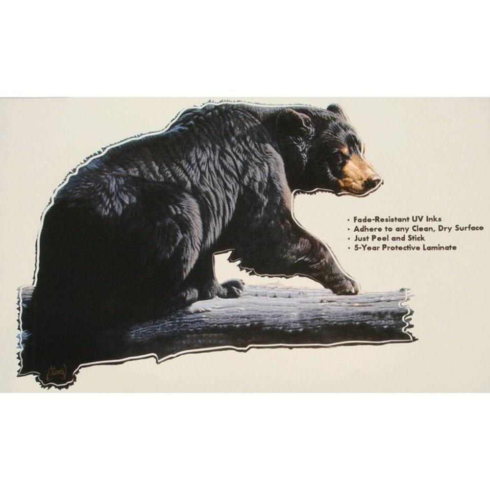 Наклейка медведь