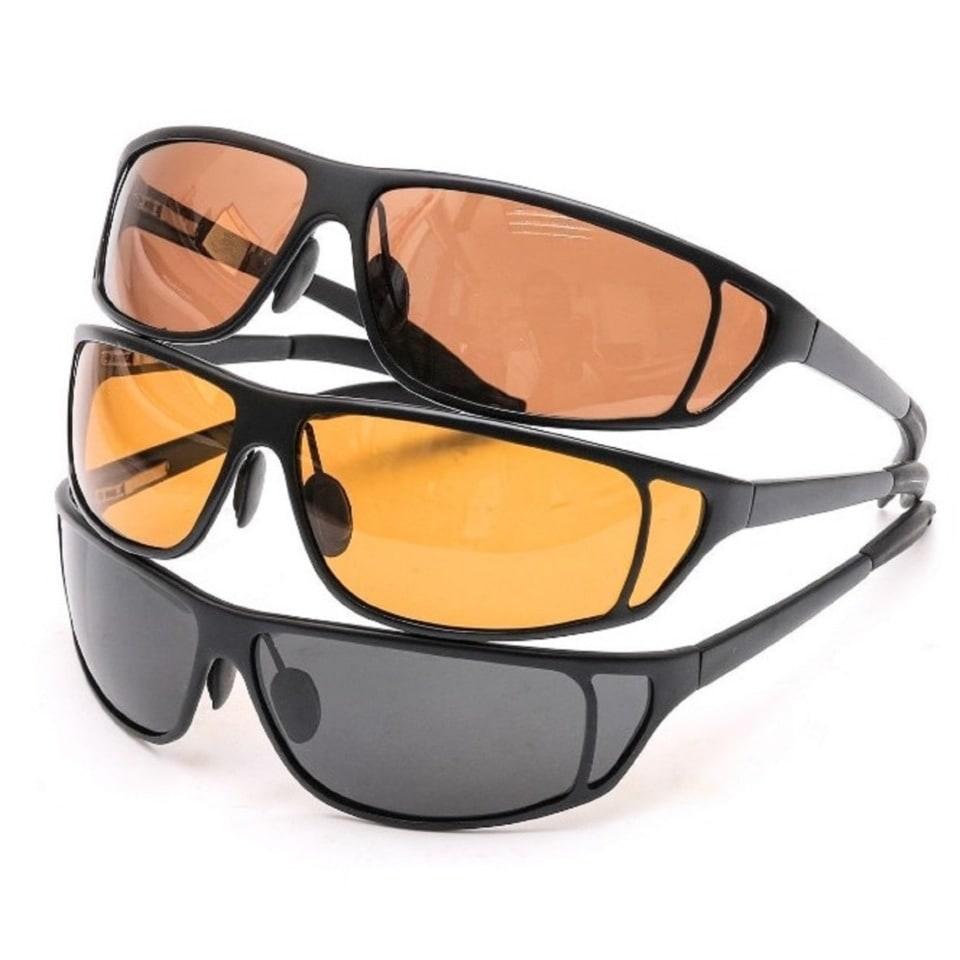 Поляризационные очки Aquatic в титановой оправе