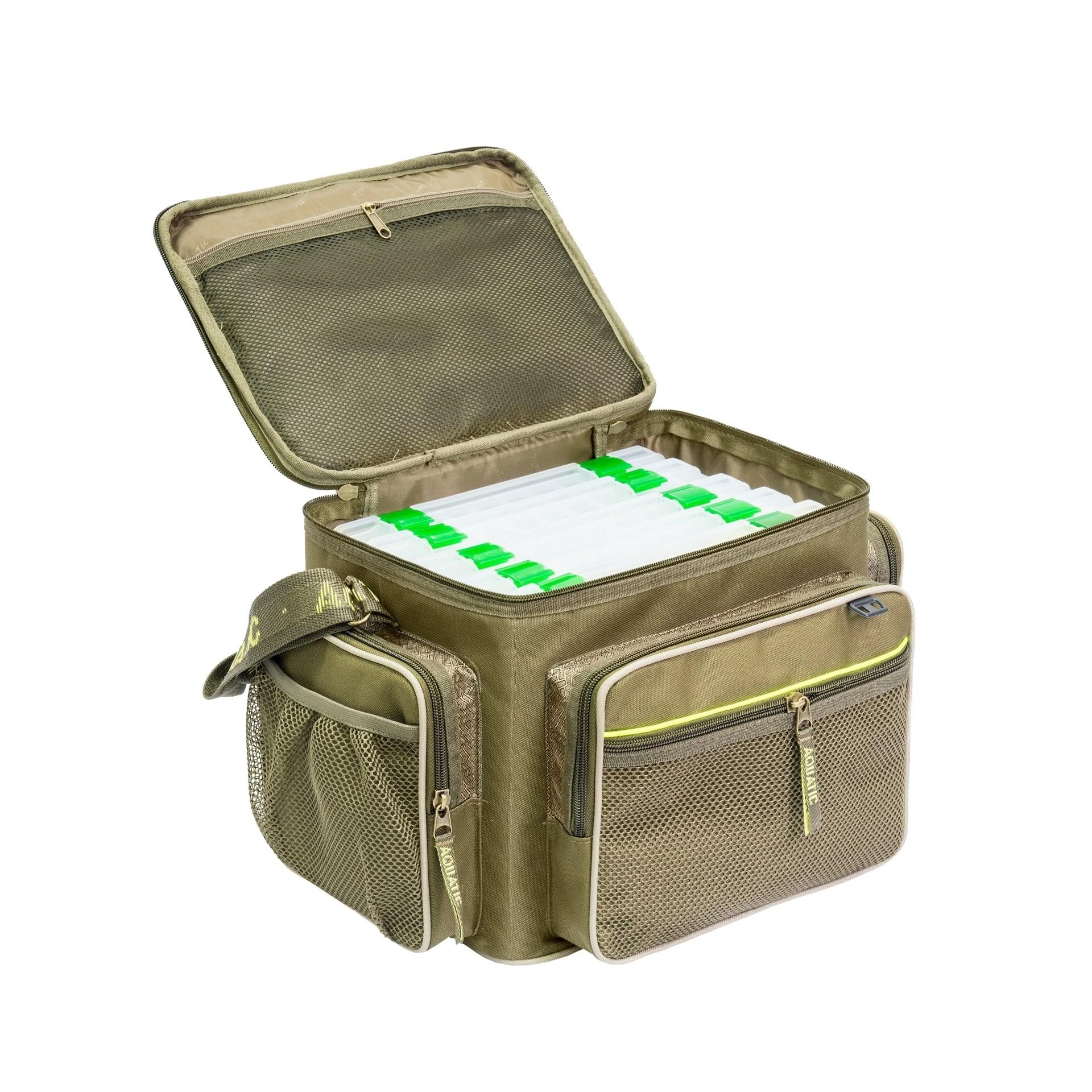 Сумка СК-13 с 6 коробками FisherBox - Рыболовные сумки Aquatic