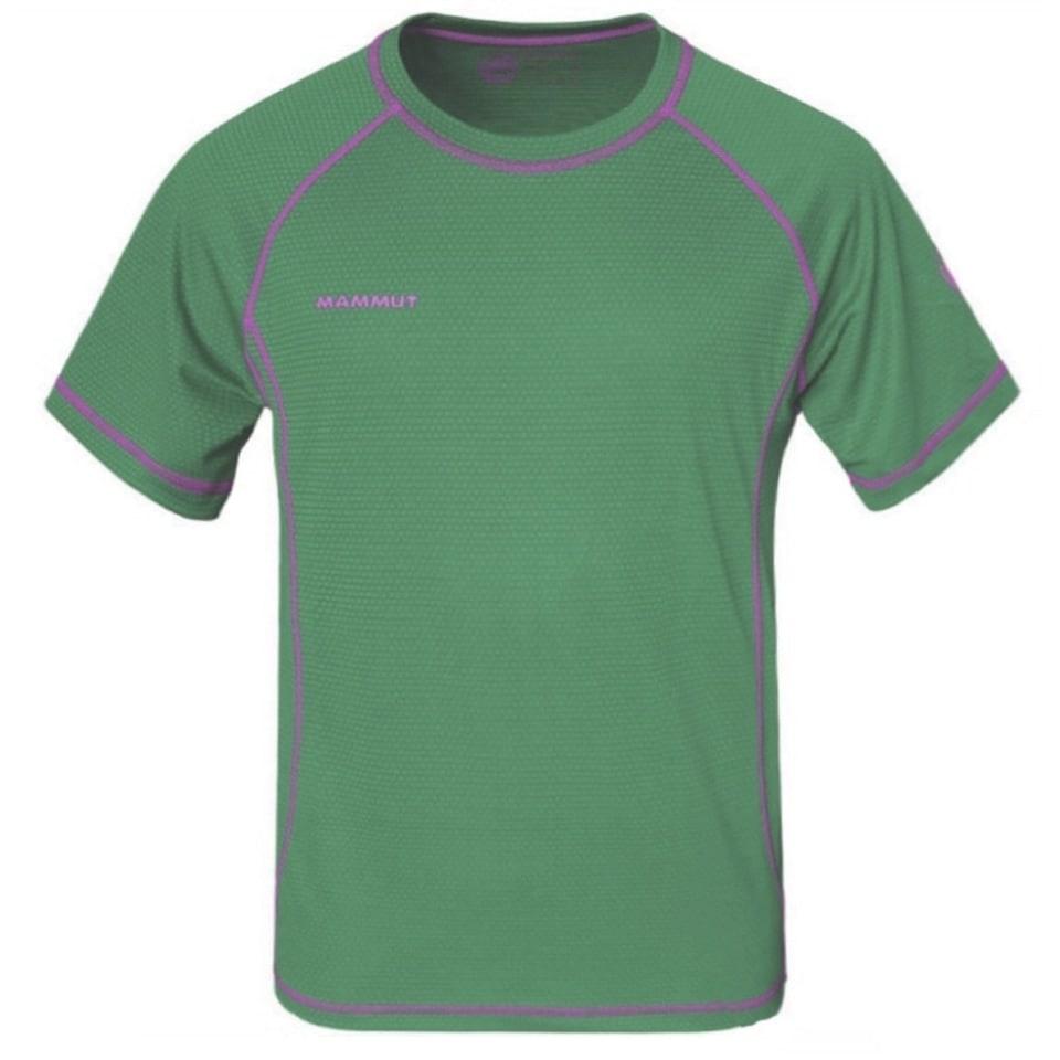 Футболка Ф-07 Mammut (цвет зеленый)