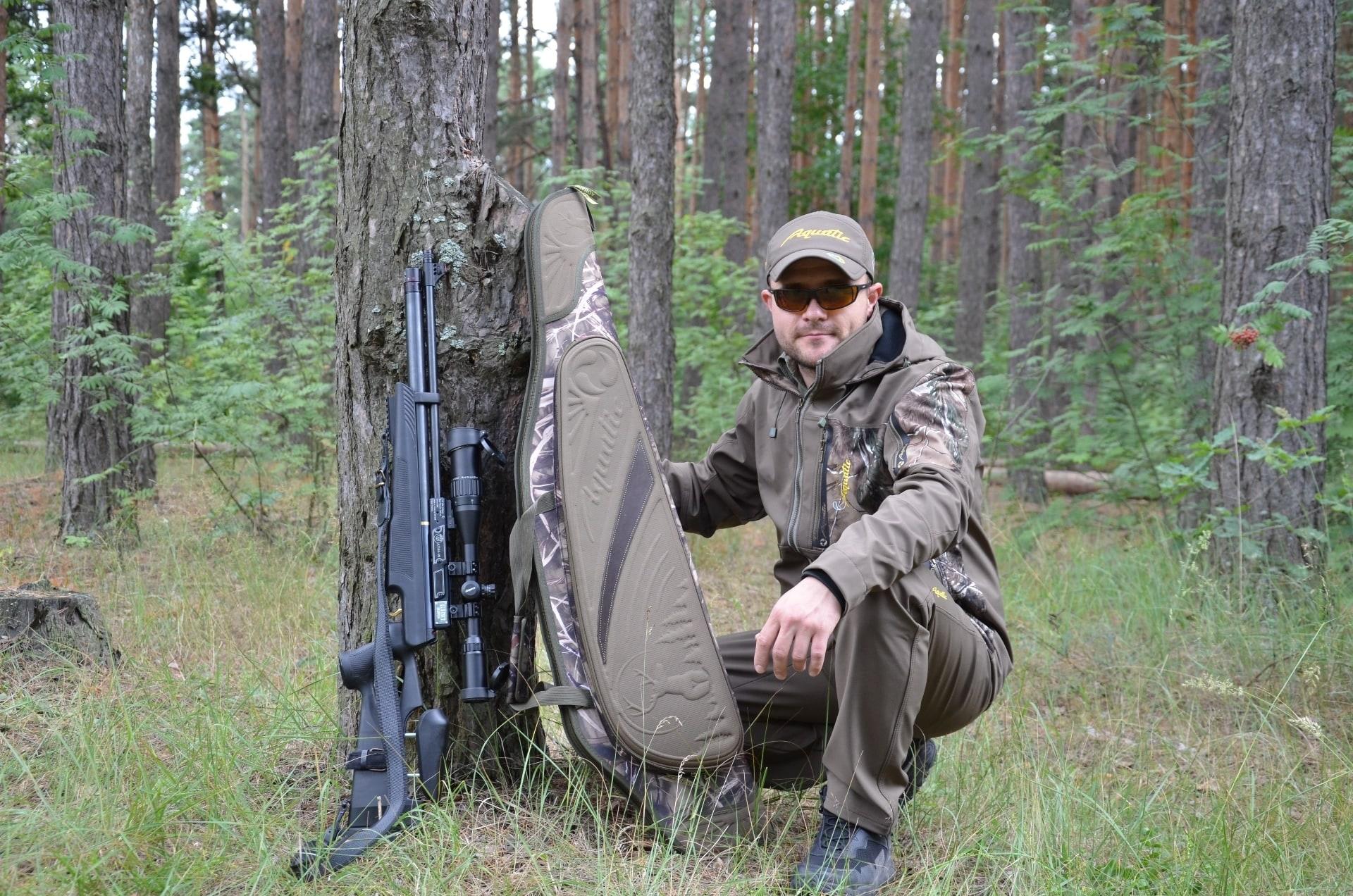 Чехол ЧО-37 для оружия с оптикой (полуж пластик)