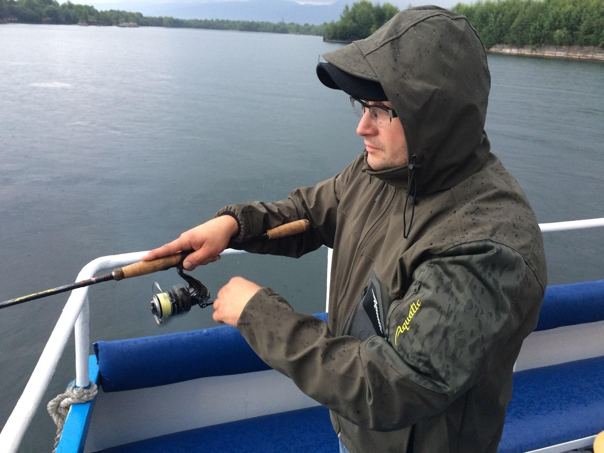 Куртка КК-01 Р тонкая (soft shell, рыбалка)