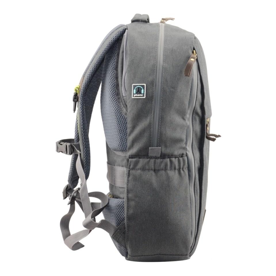 Рюкзак городской Р-27ТС (цвет: темно-серый)