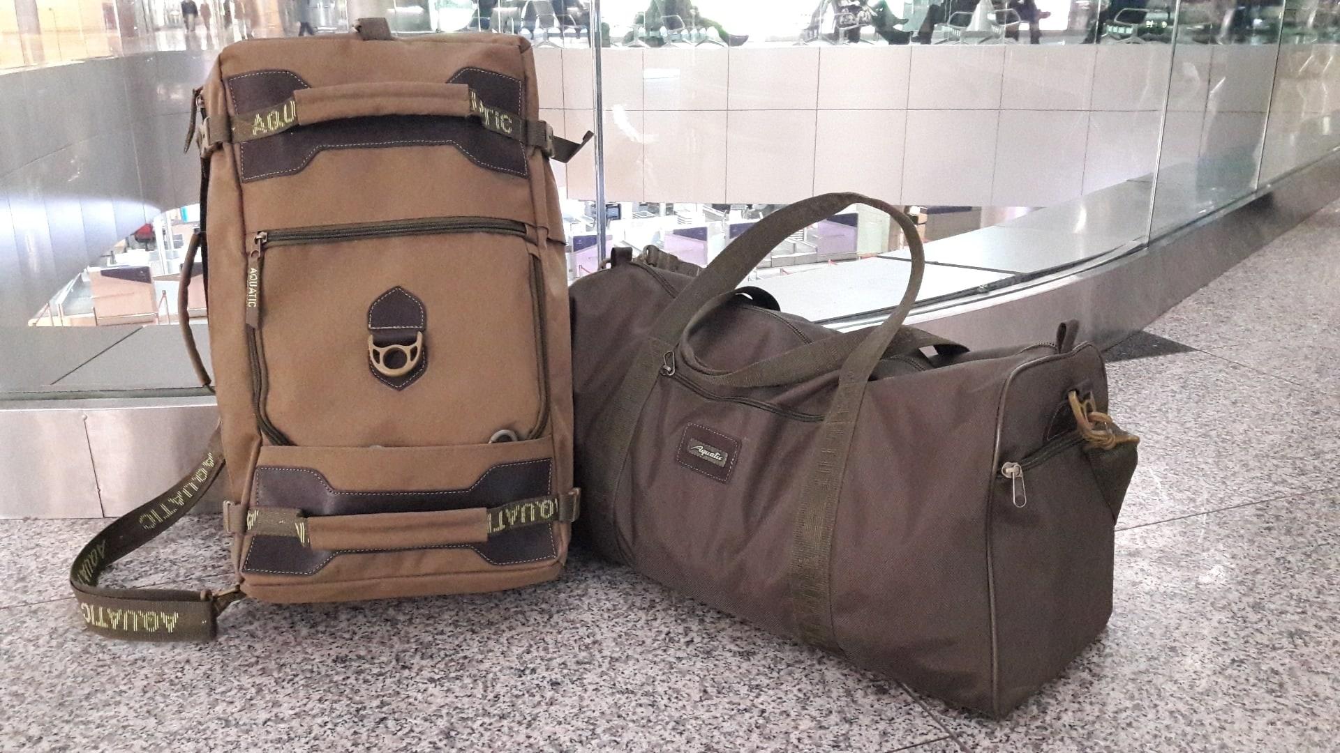 Сумка-рюкзак С-27Х с кожаными накладками (цвет: хаки)
