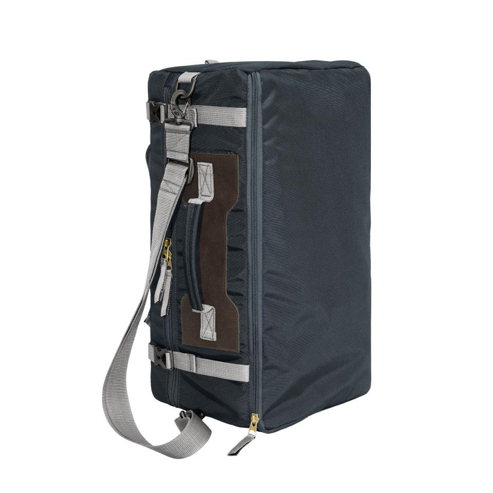 Сумка-рюкзак С-27 с кожаными накладками