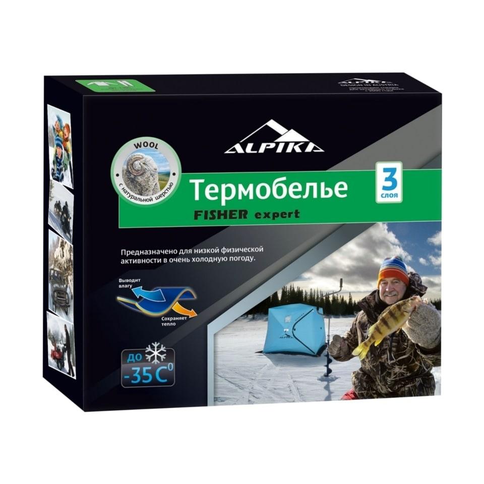 "Термобелье Т-07ТС ALPIKA ""Fisher Expert"" (до - 35С, цвет: темно-серый)"