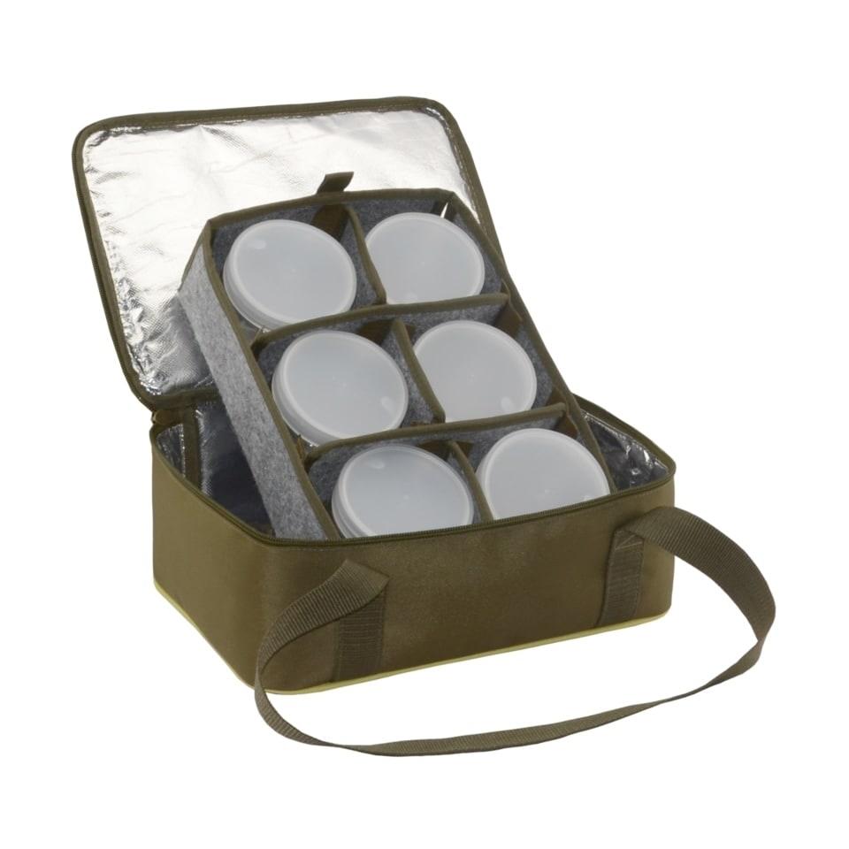 Термо-сумка Aquatic С-42 с банками 6 шт. (размер: 32х23х15 см)