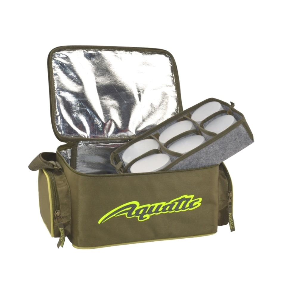 Термо-сумка Aquatic С-43 с банками 12 шт. (размер: 32х23х21 см)