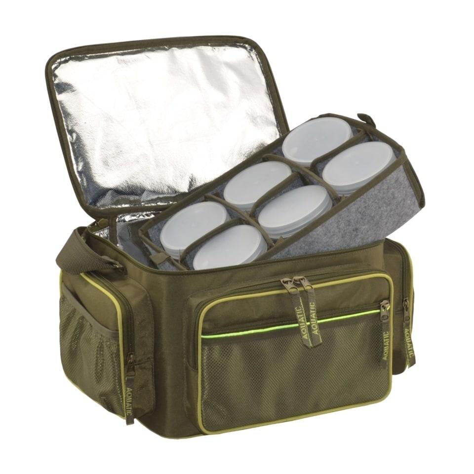 Термо-сумка Aquatic С-44 с банками 18 шт. (размер: 32х23х27 см)