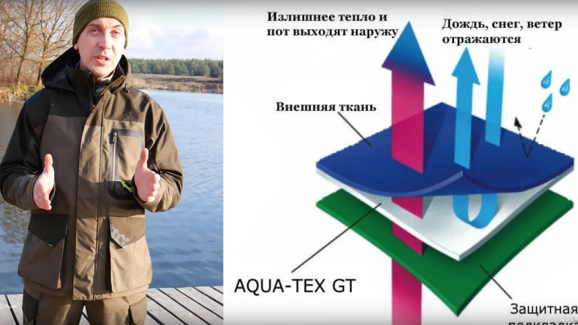 Видеообзор демисезонного костюма Aquatic К-10