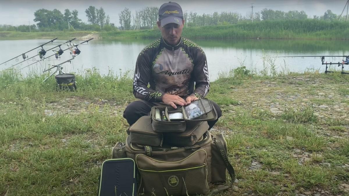 Видеообзор сумки Aquatic С-23 для грузов, ПВА систем и оснасток от Андрея Богомолова