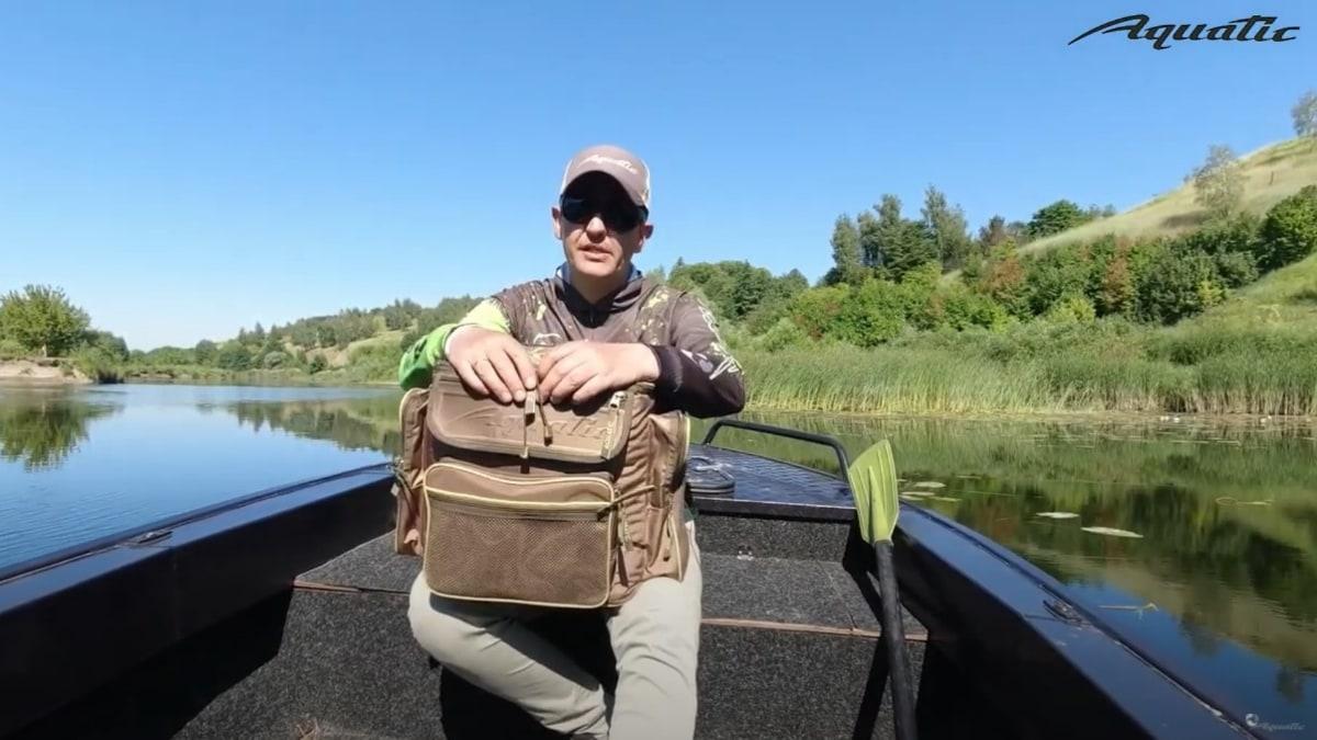 Видеообзор термо-сумки Aquatic С-20 от Андрея Нечипуренко