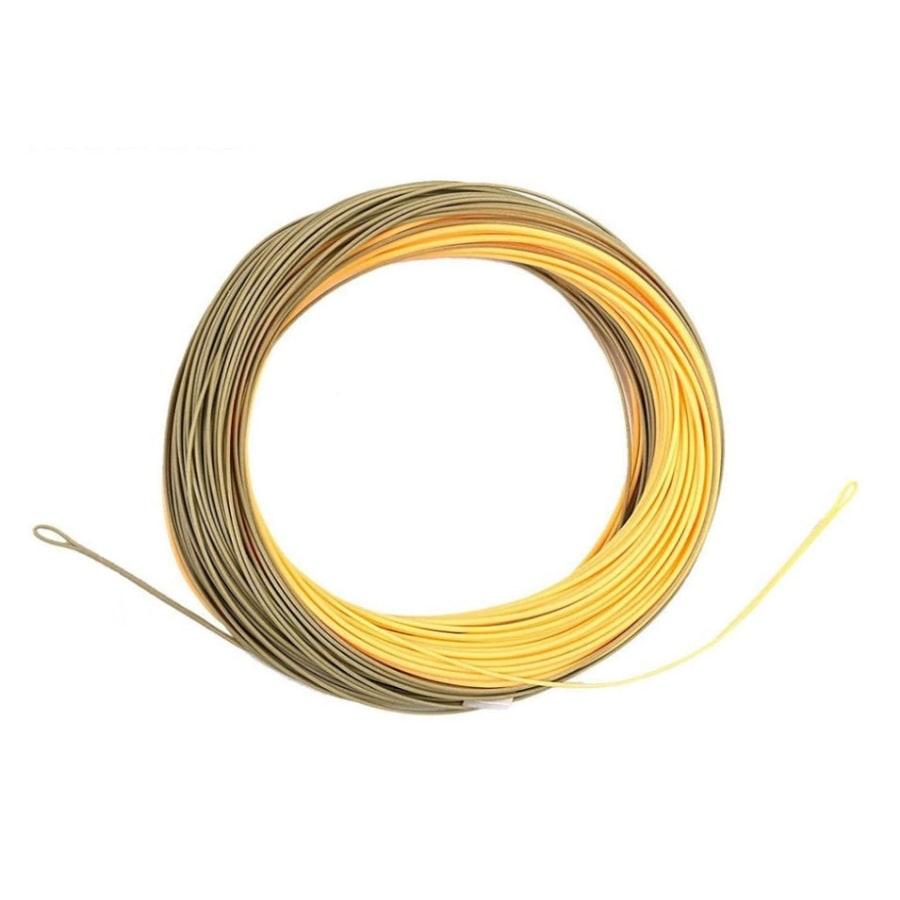 Нахлыстовый шнур Single handed spey welded loops peach/camo
